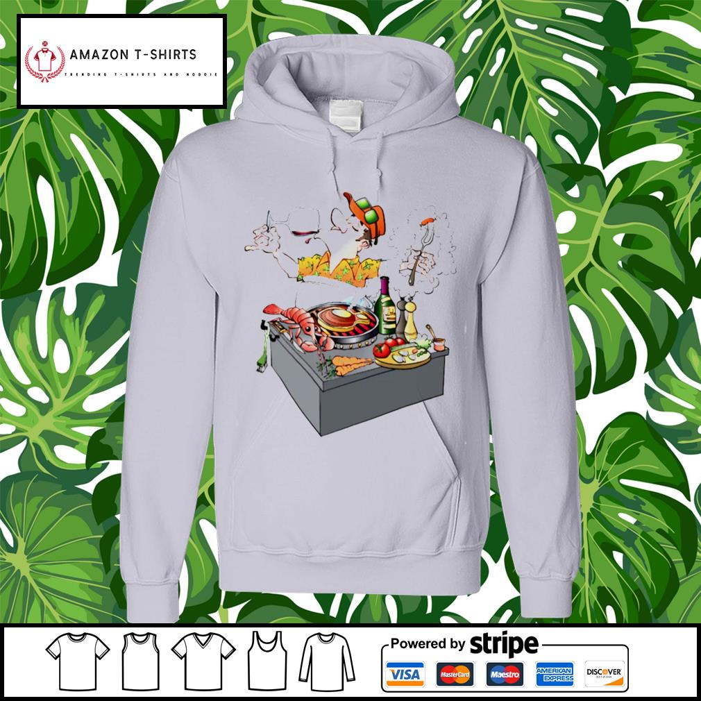 Grillmaster Stock Illustrations cartoon s hoodie
