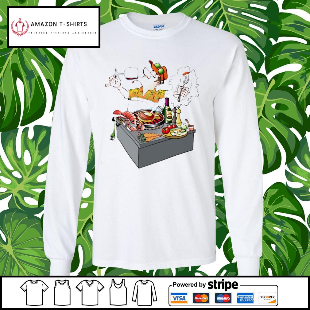 Grillmaster Stock Illustrations cartoon s longsleeve-tee