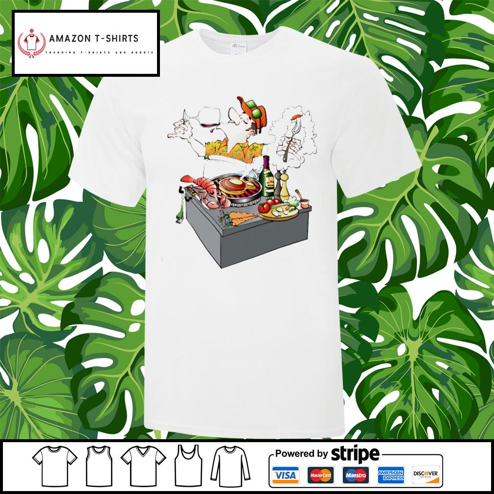 Grillmaster Stock Illustrations cartoon shirt