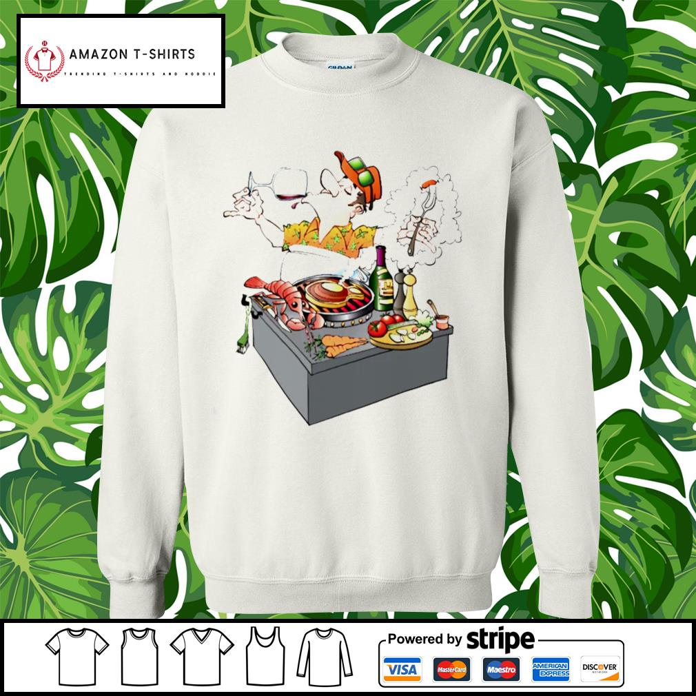 Grillmaster Stock Illustrations cartoon s sweater