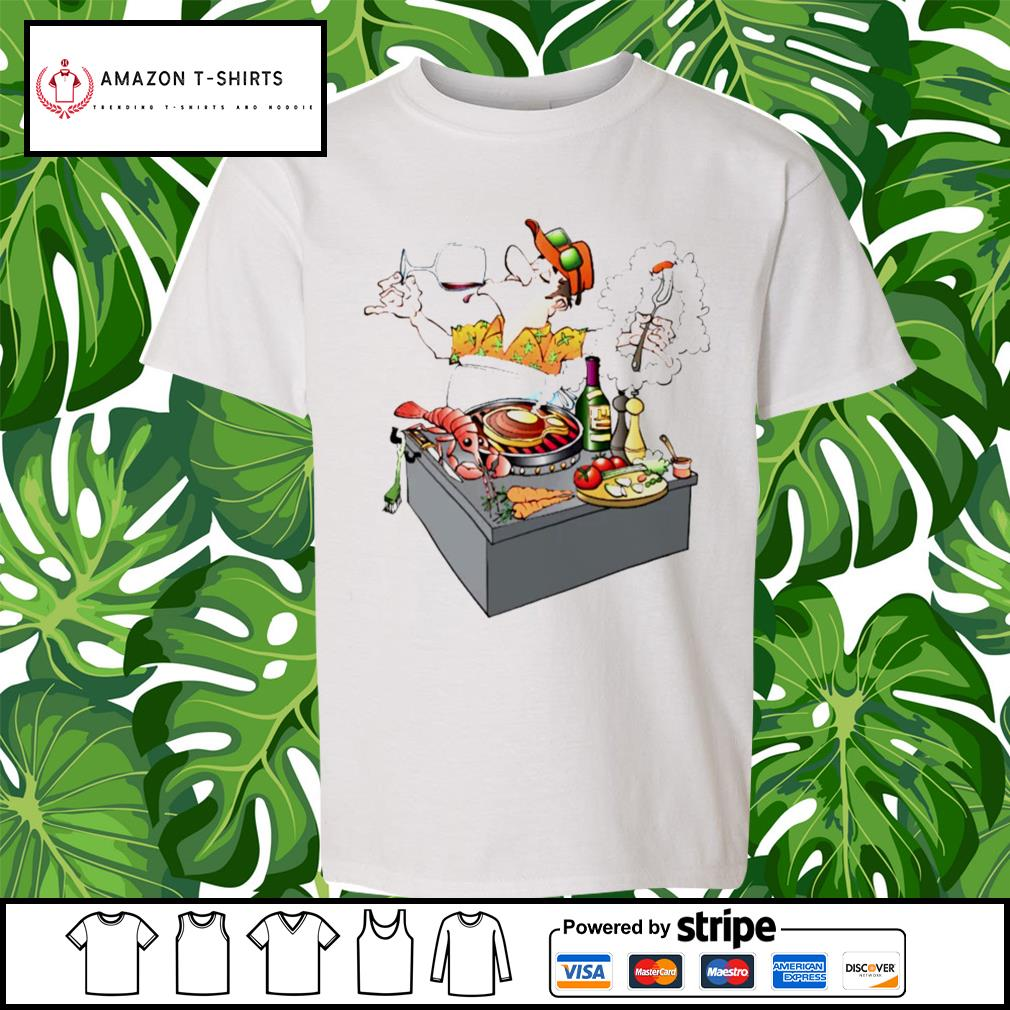 Grillmaster Stock Illustrations cartoon s youth-tee