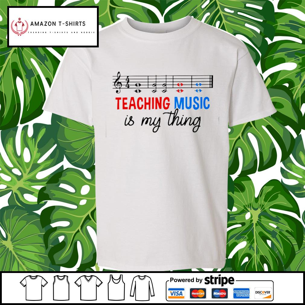Teaching music is my thing s youth-tee