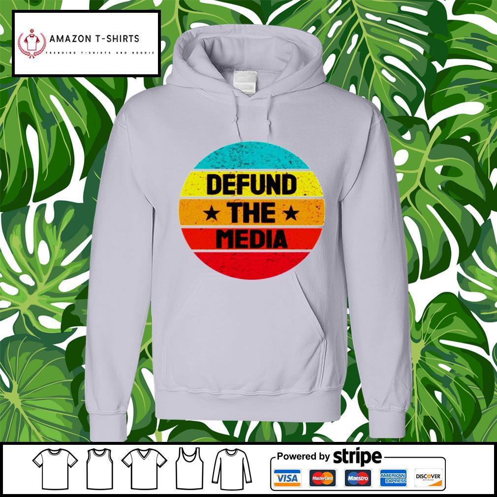 Vintage Defund the Media s hoodie