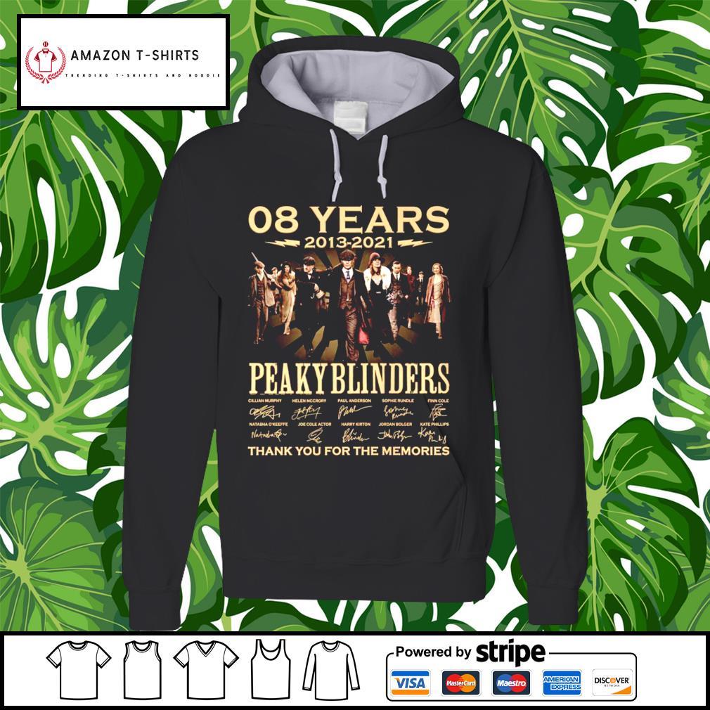 08 years 2013-2021 Peaky Blinders signature hoodie