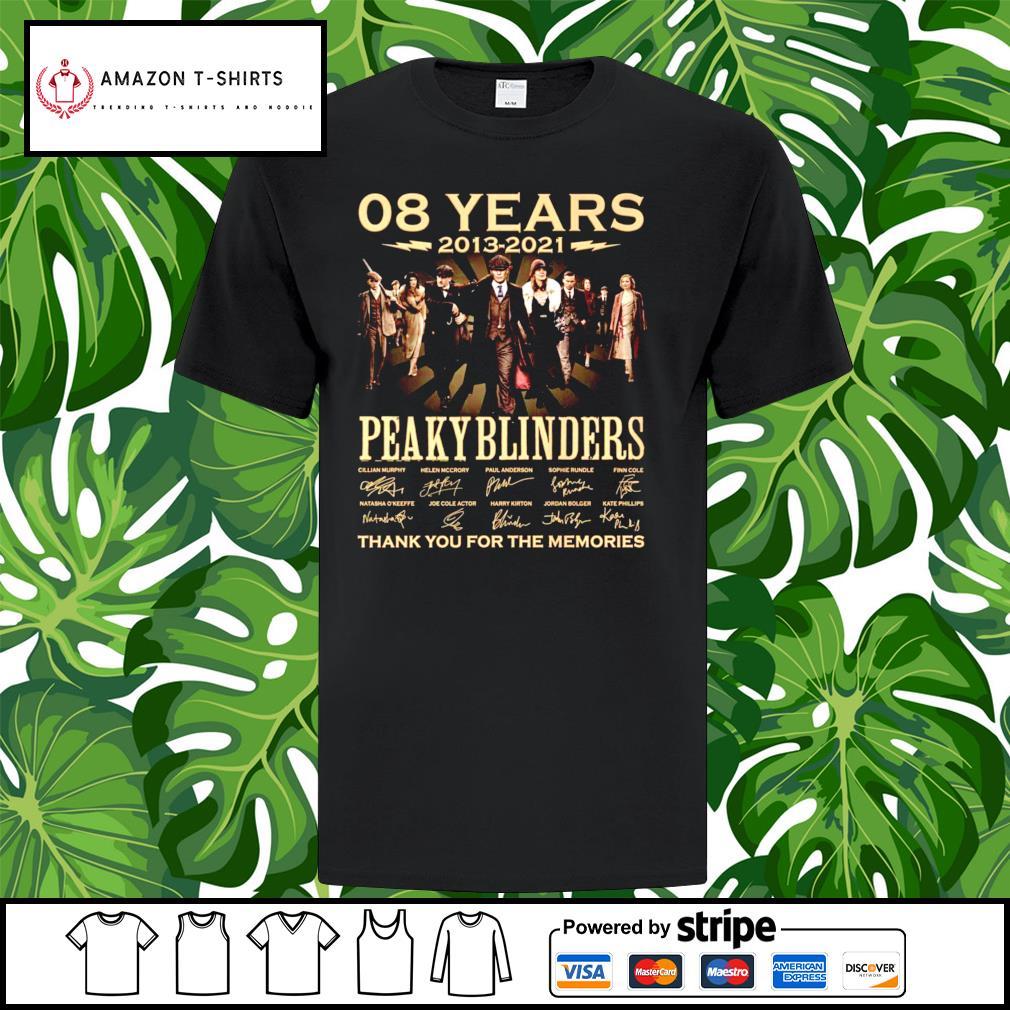 08 years 2013-2021 Peaky Blinders signature shirt
