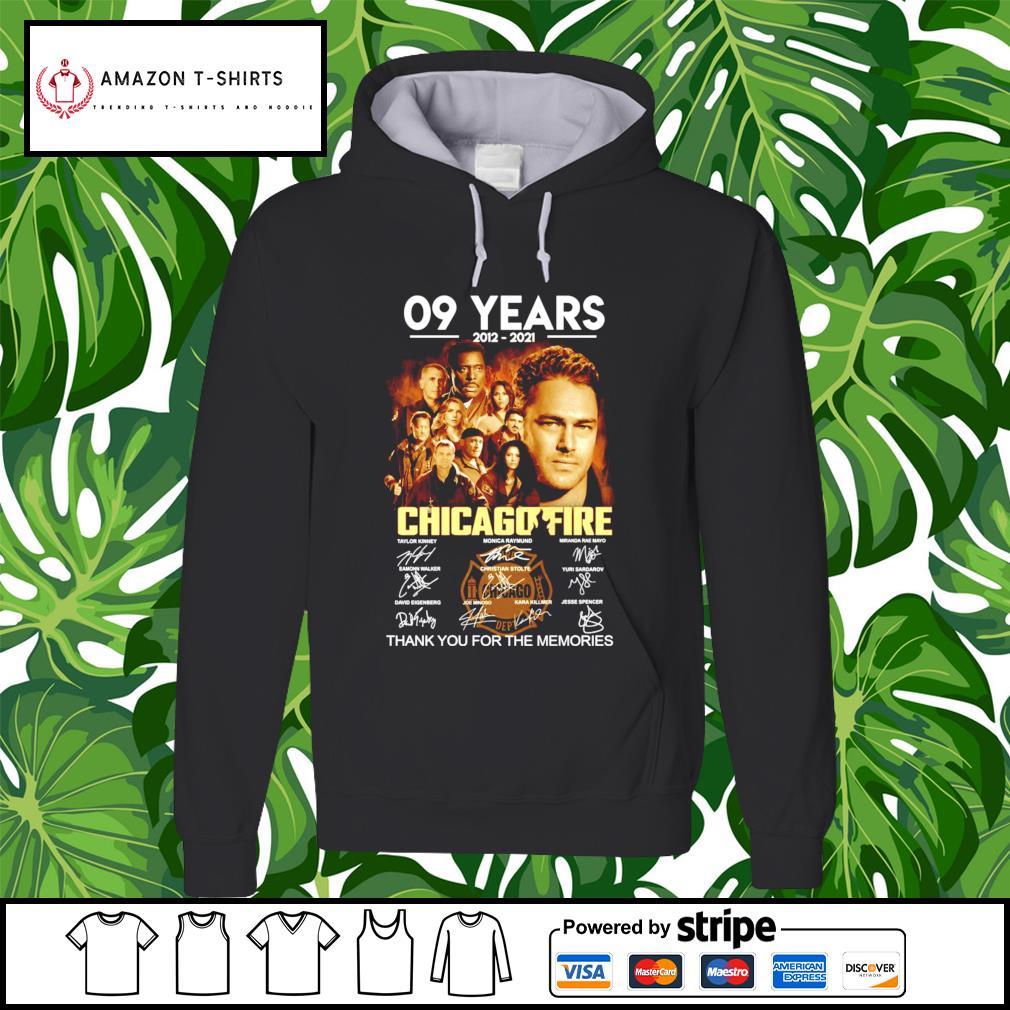 09 years 2012-2021 Chicagofire signature hoodie