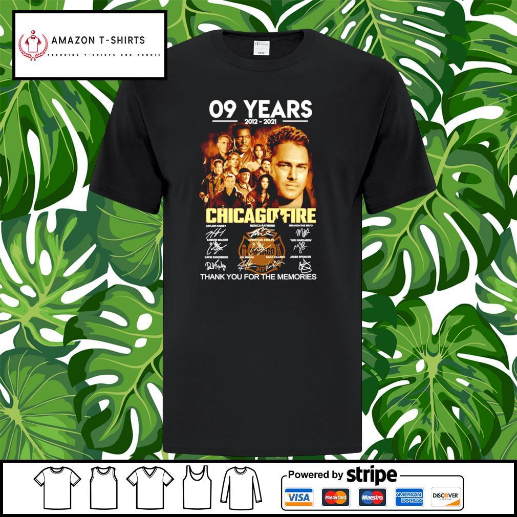 09 years 2012-2021 Chicagofire signature shirt