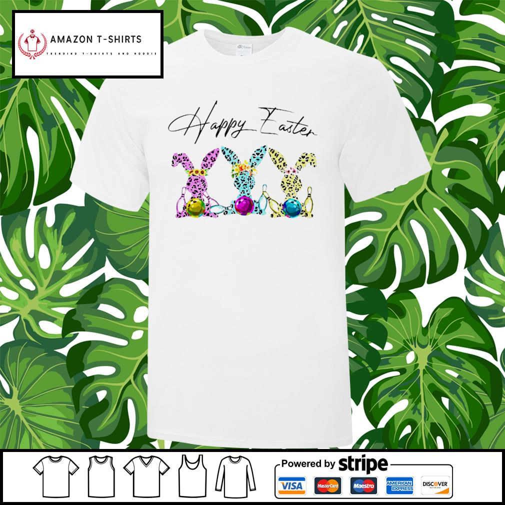 Bowling happy easter shirt