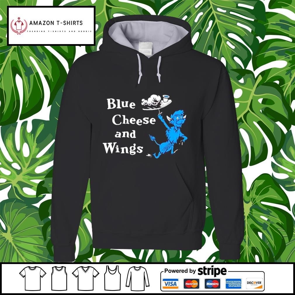 Hall of fame blue cheese and wings hoodie