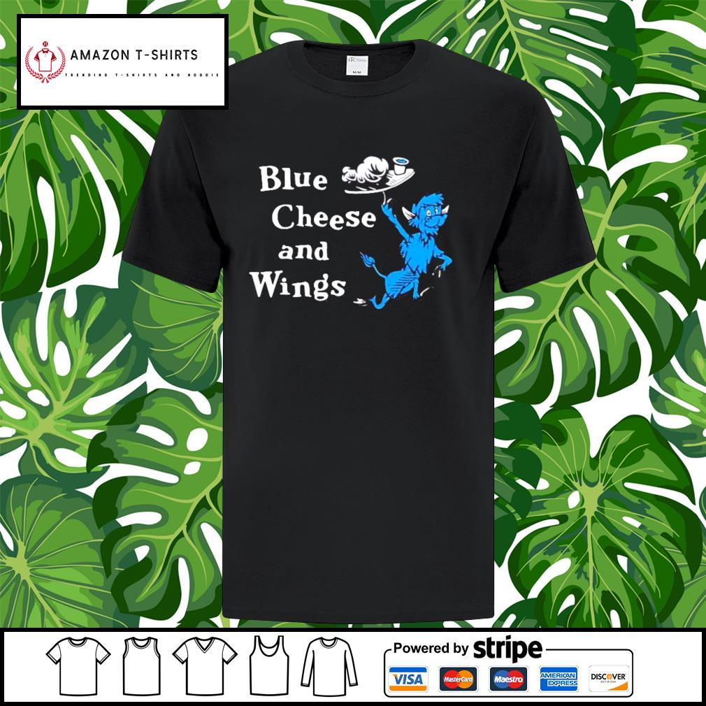 Hall of fame blue cheese and wings shirt