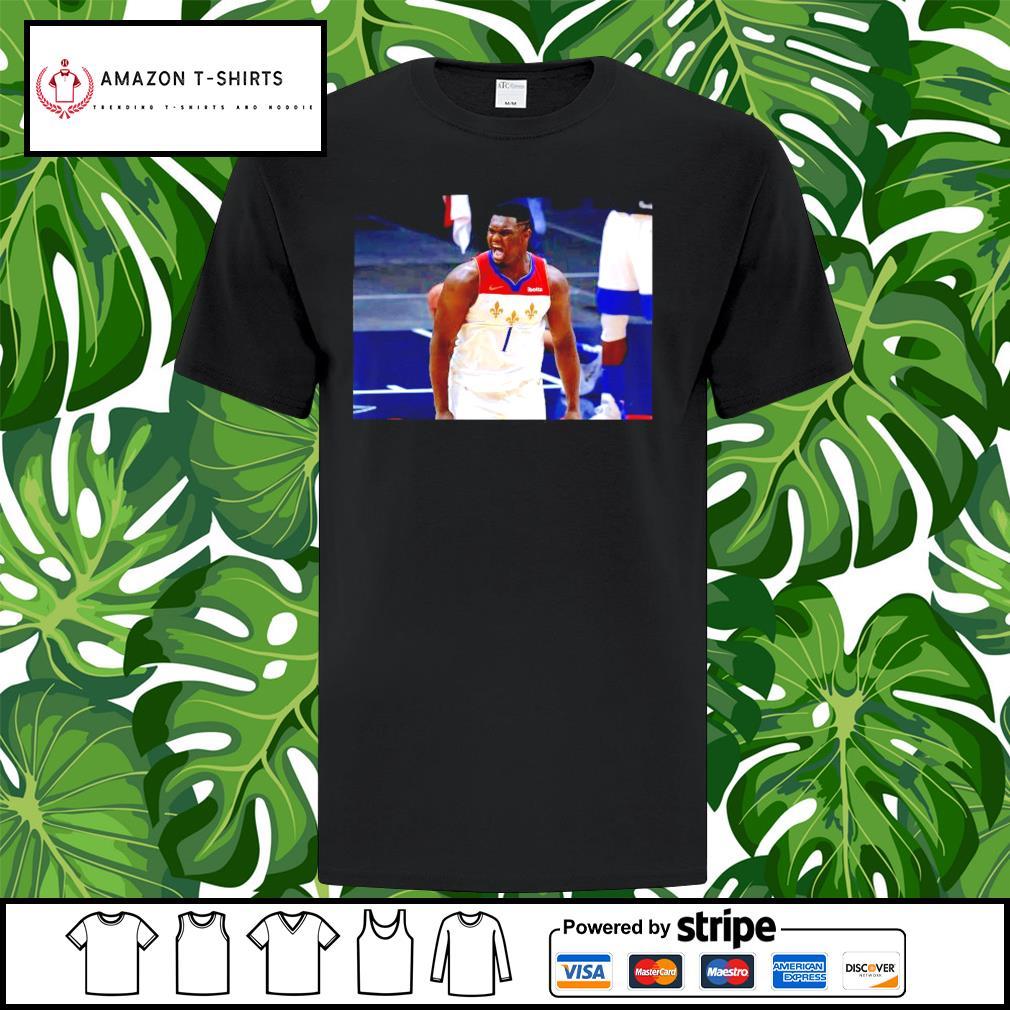 Zion Williamson New Orleans shirt