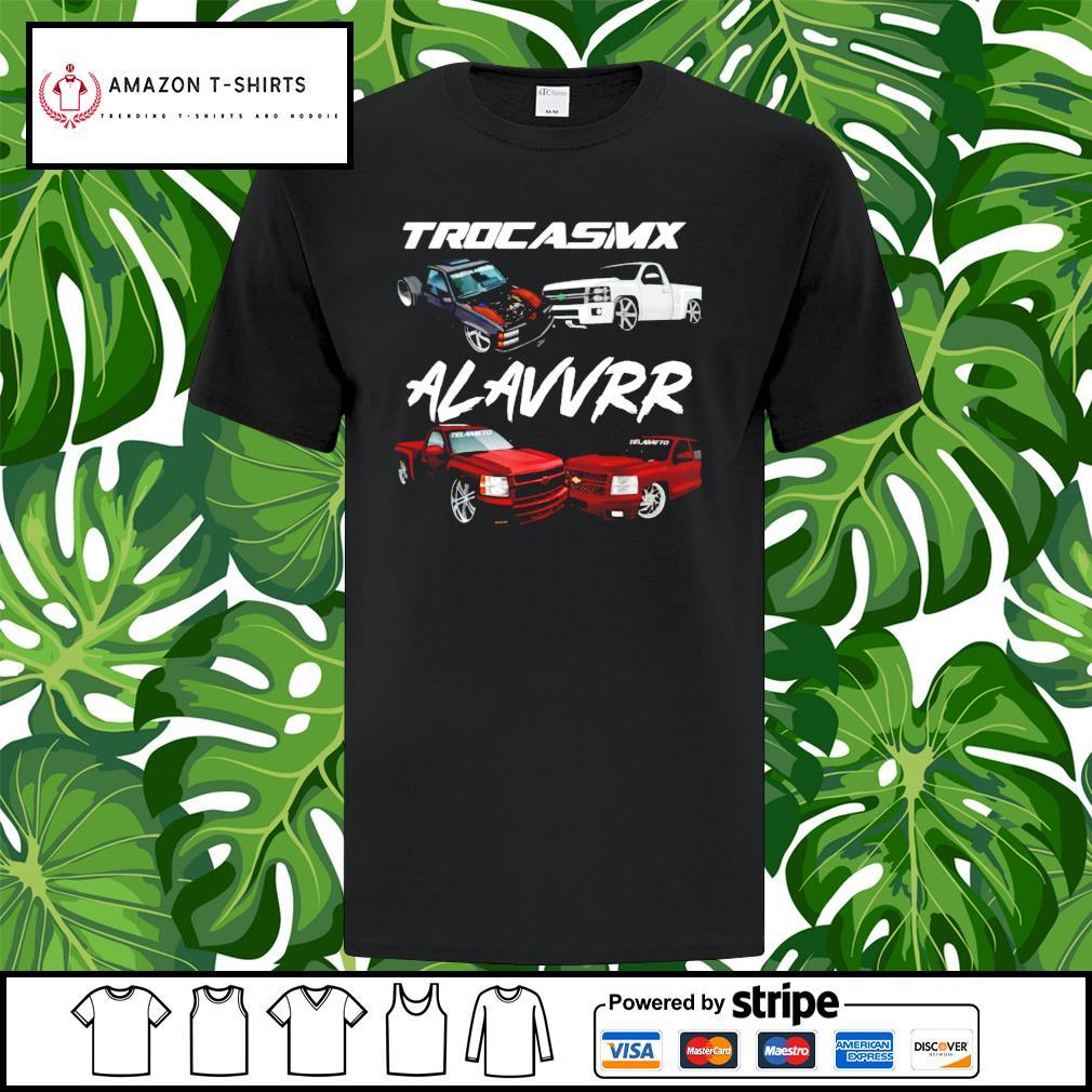Trocasmx alavvrr car shirt