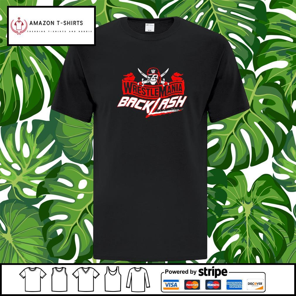 Wrestlemania Backlash shirt