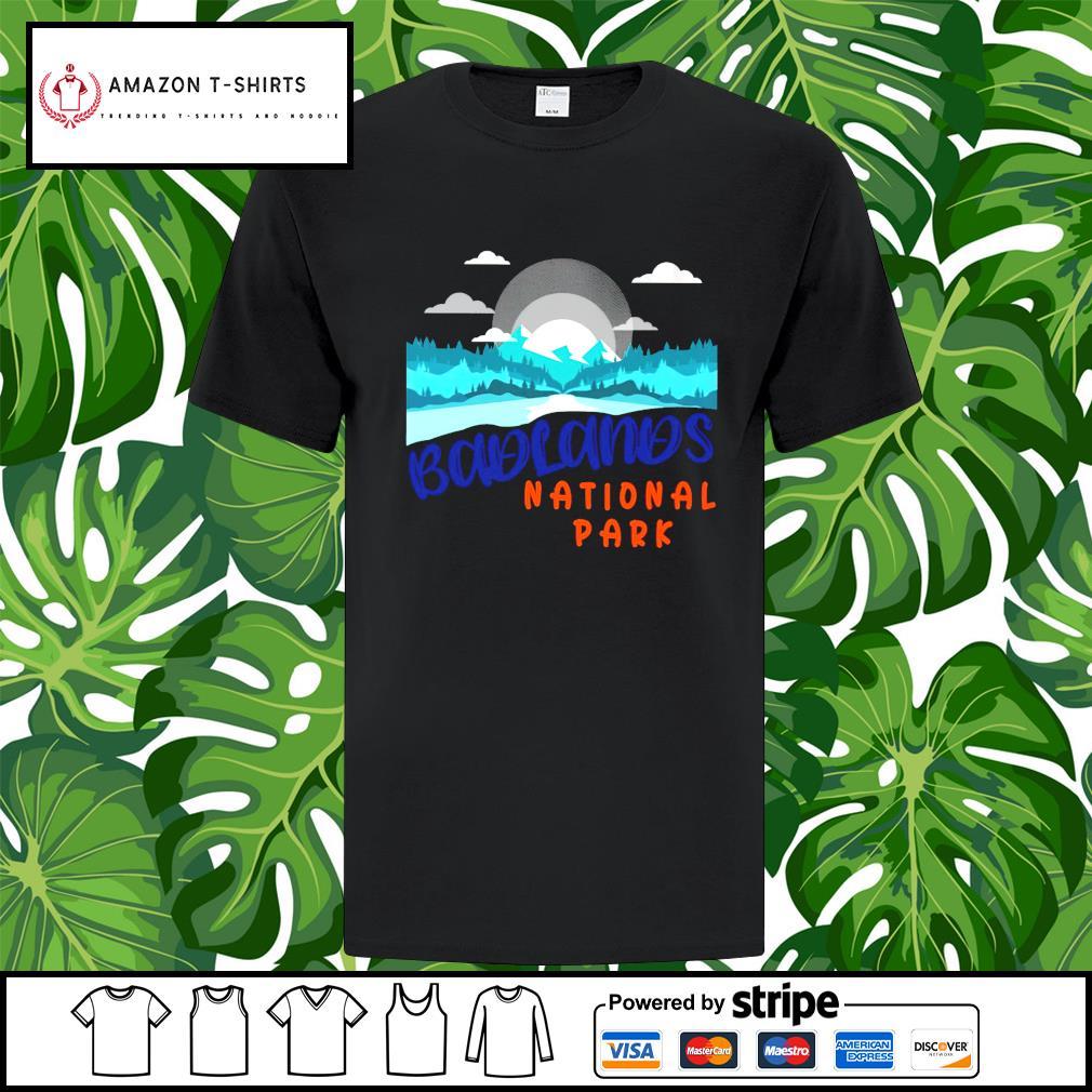 Badlands national park shirt