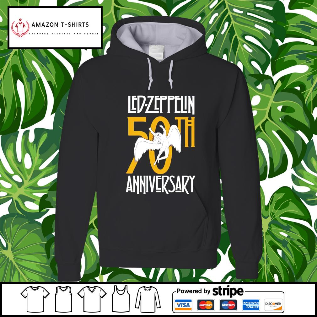 Led Zeppelin Anniversary 50th hoodie