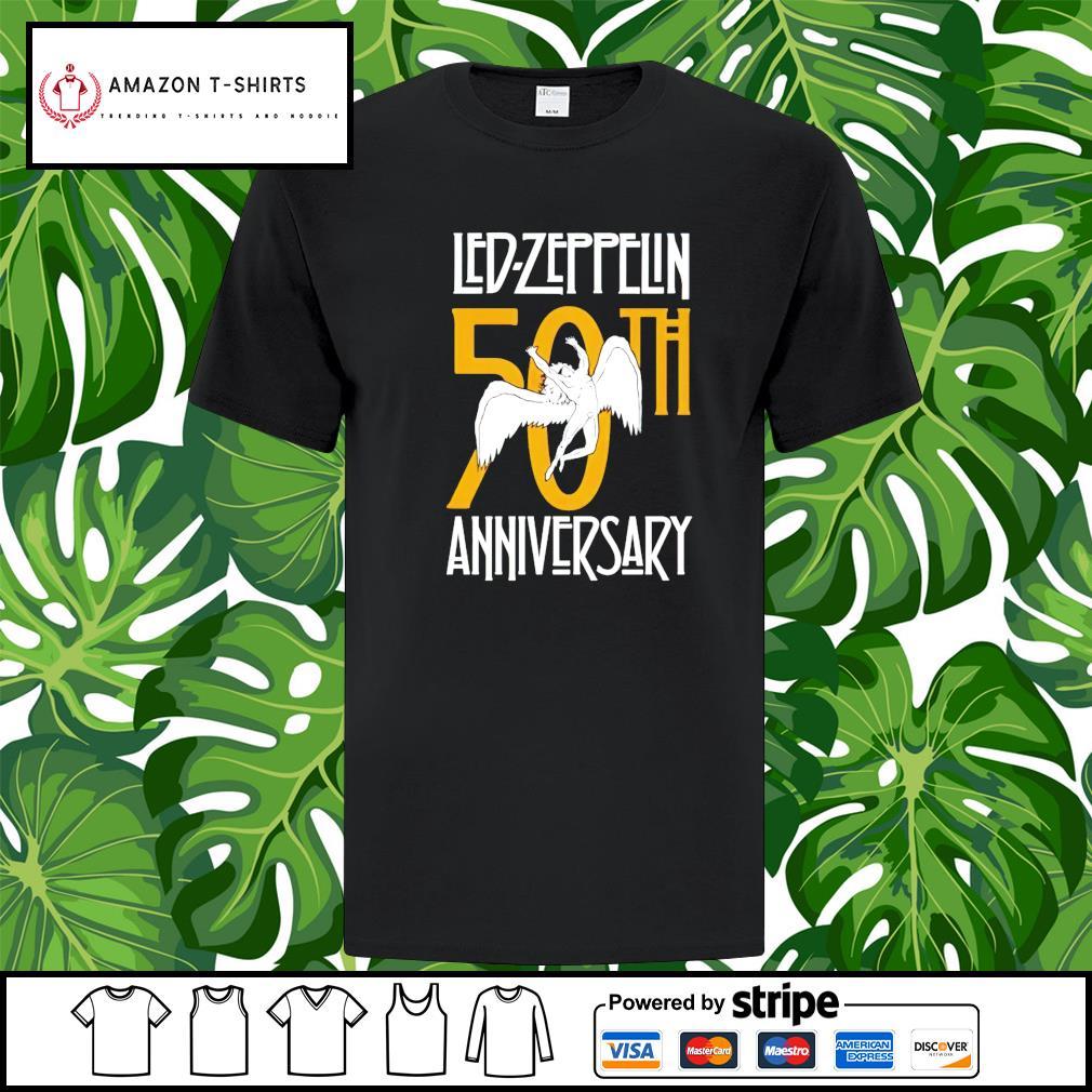 Led Zeppelin Anniversary 50th shirt