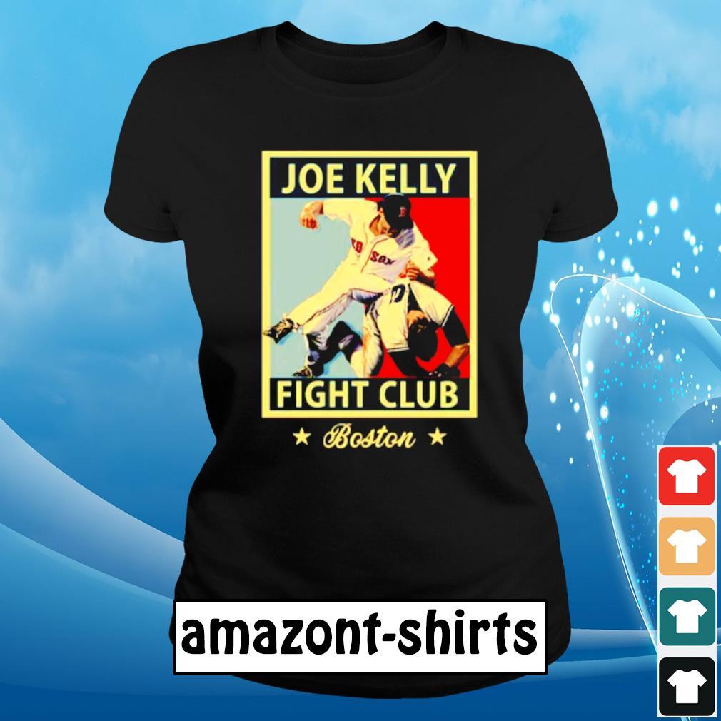 Joe Kelly fight club s ladies-tee