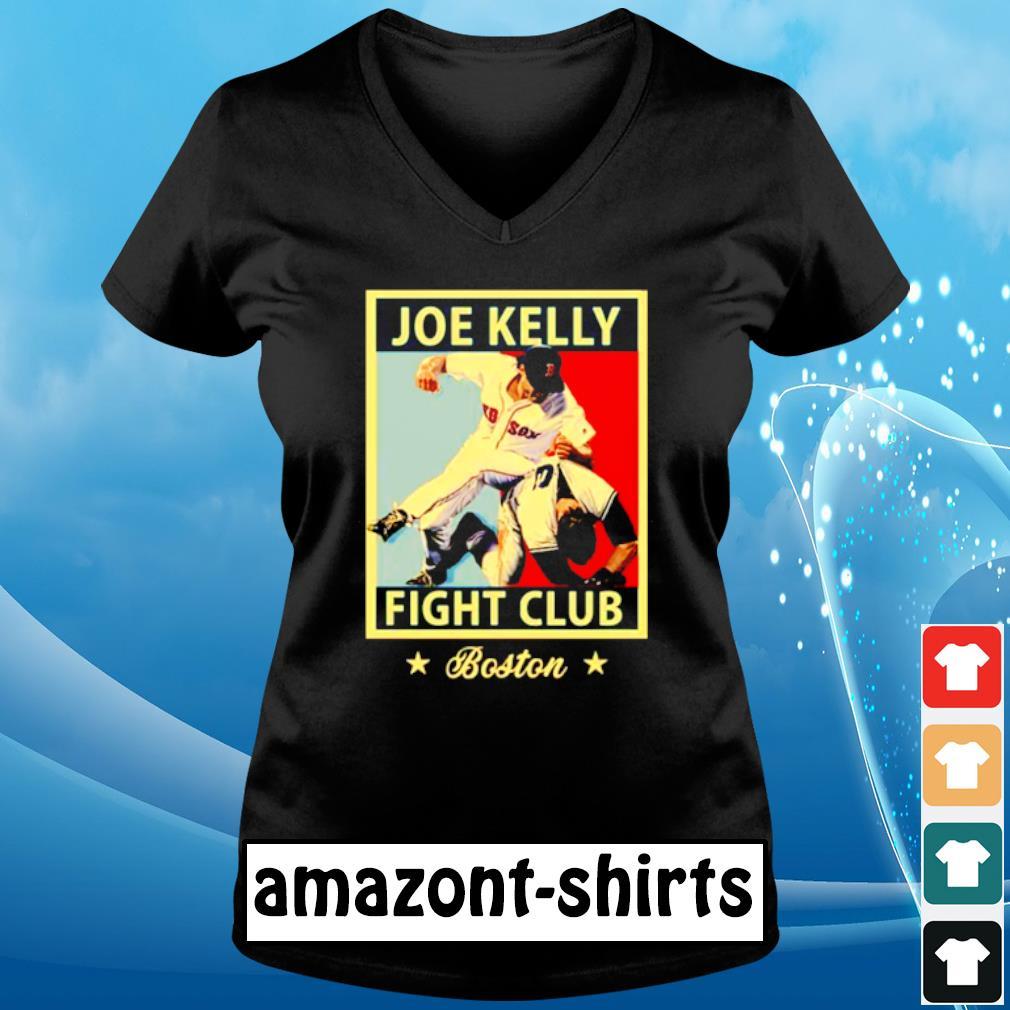 Joe Kelly fight club s v-neck-t-shirt