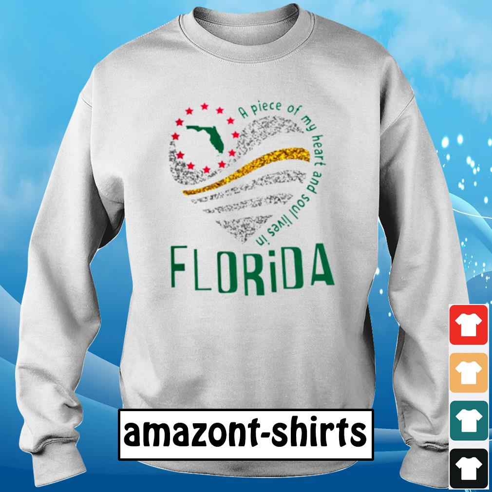 A piece of my heart and soul lives in florida s sweater
