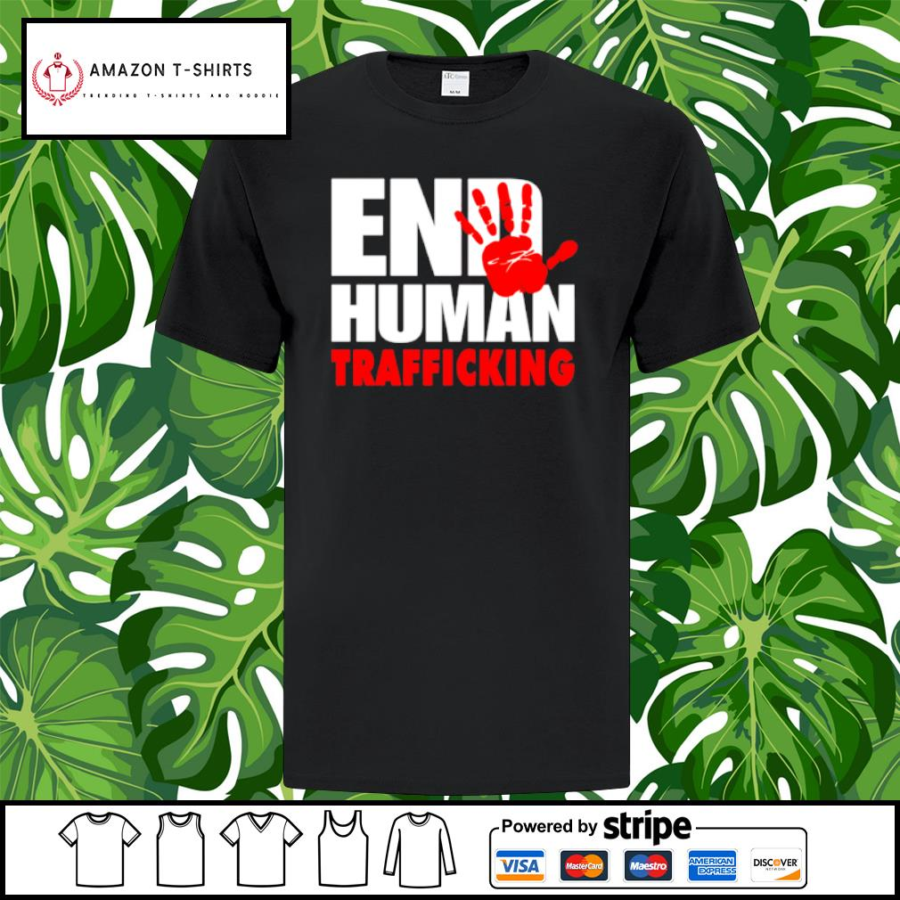 End human trafficking shirt