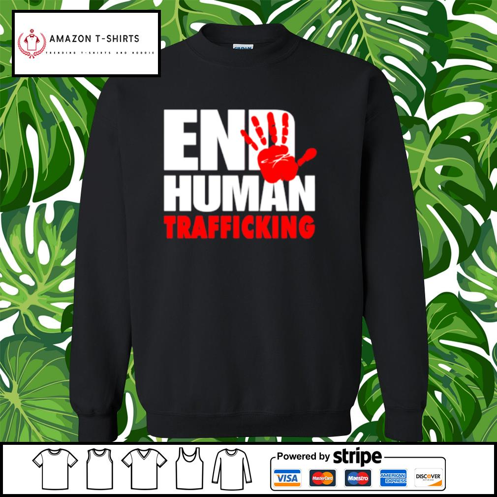 End human trafficking s sweater