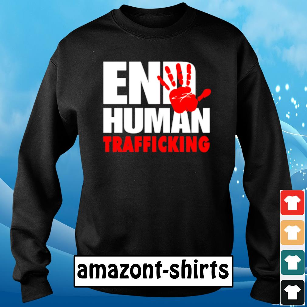 End human trafficking s sweater