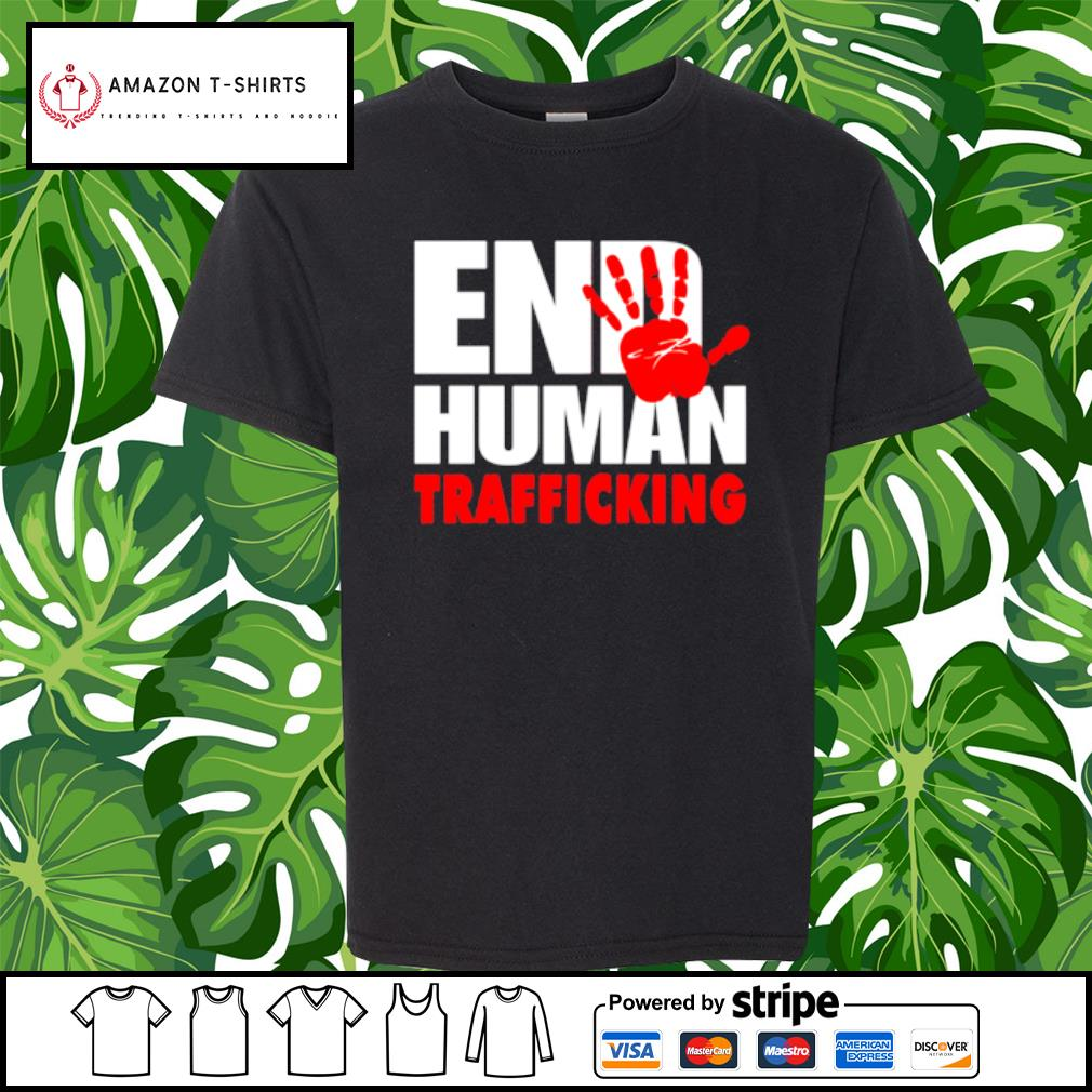 End human trafficking s youth-tee