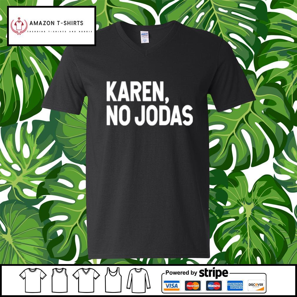 Karen no Jodas s v-neck-t-shirt
