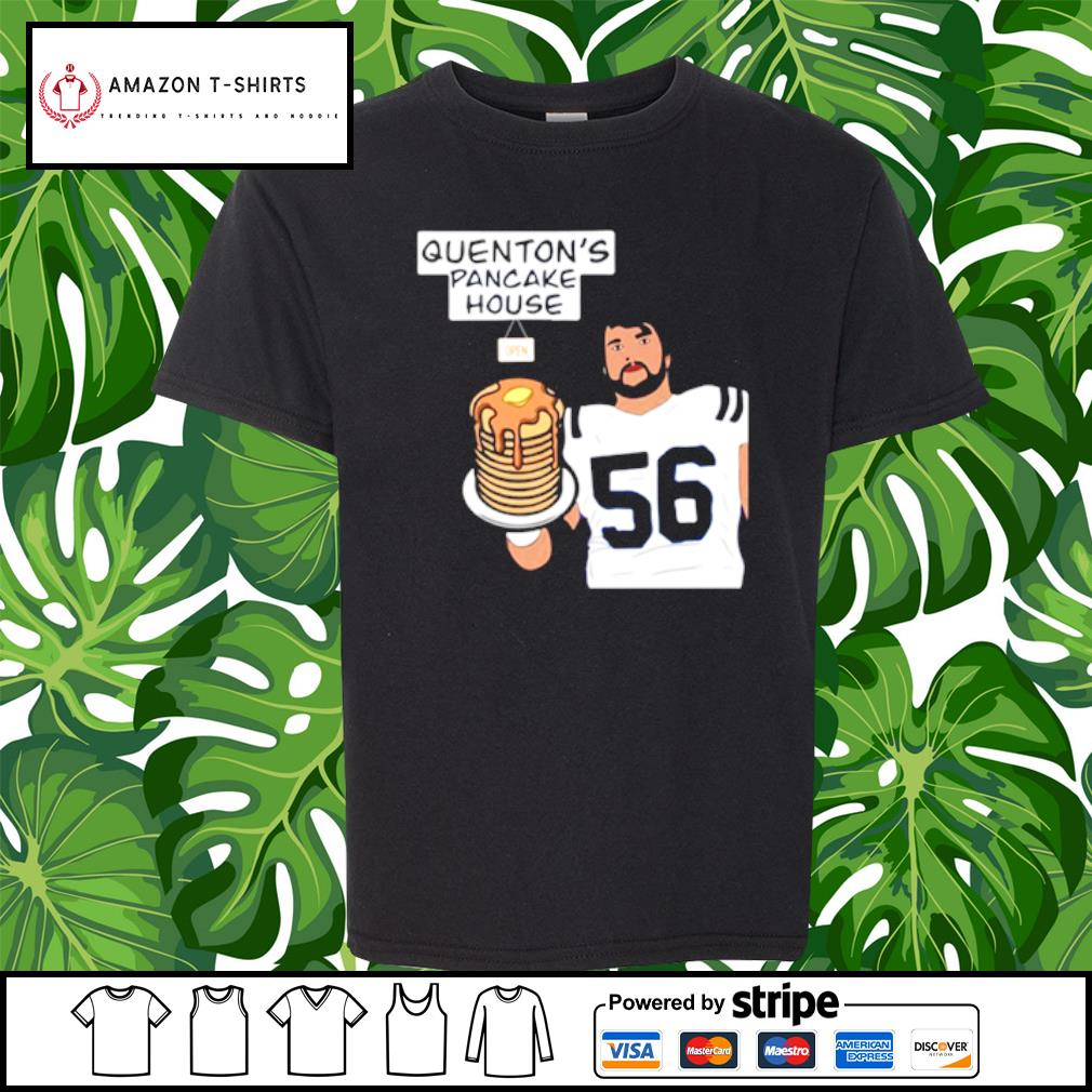 Quenton Nelson Pancake House s youth-tee