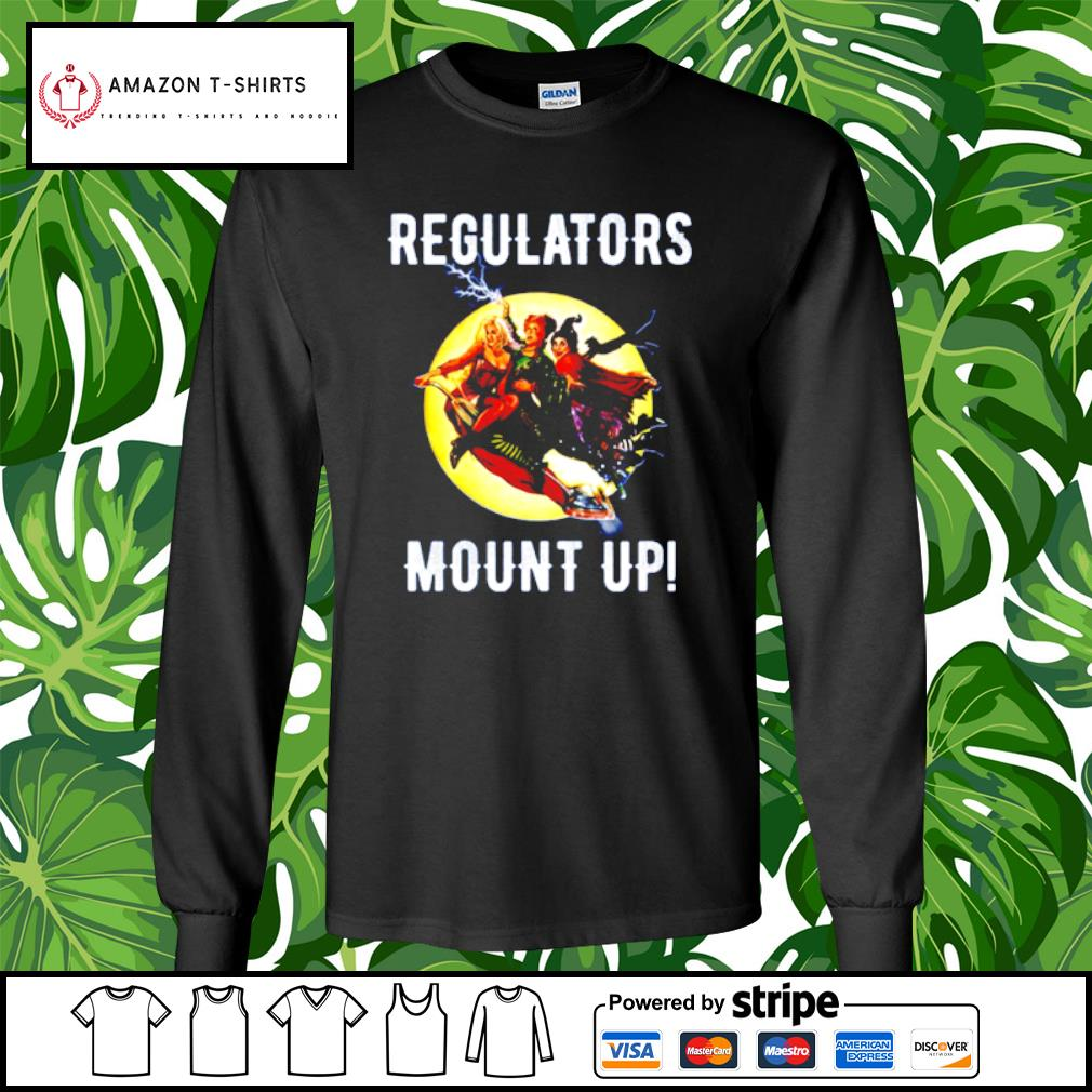 Regulators mouth up Hocus Pocus s longsleeve-tee