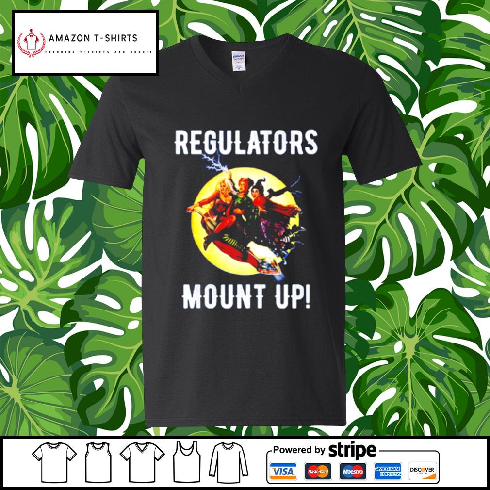 Regulators mouth up Hocus Pocus s v-neck-t-shirt